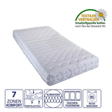 7-Zonen Kaltschaummatratze Nova Dream Super KS - 120 x 200cm - H2 bis 80 kg,