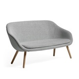 About a Lounge Sofa for Comwell, Eiche geseift / Remix 123 (hellgrau)