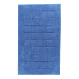 Badteppich Exclusive - 100% Baumwolle deep blue - 469 - 67x120 cm,