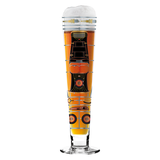 Bierglas mit Bierdeckeln Black Label Beer - 300 ml - Design Alena St. James - 2014 - 1010220,