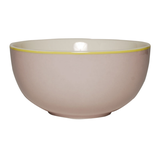 Bowl - Design Solid Grey - New Bone China Porzellan - Einzelfarbig Schale in Grau,