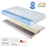 Boxspring Inside System Sleep Comfort III - 100 x 200cm - H2 bis 100 kg,