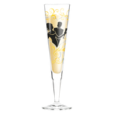 Champagnerglas mit Serviette Champus - 200 ml - Design Dominique Tage - 2014 - 1070216,