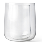 Glasvase Vase In Vase - Glas - Transparent,
