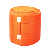 Hocker Tub - Orange,