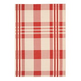 In-/Outdoorteppich Mendez - Red/Beige - Maße: 160 x 231 cm,