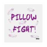 Kissen Pillow-Fight - 100% Leinen - Beige,