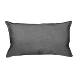 Kissen Pillow - Webstoff Taupe,