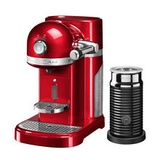 KitchenAid - Artisan Nespresso inkl. Aeroccino 3, Empire Red