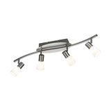 LED-Balken - Nickel - 4x4,5 W,