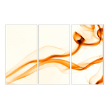 Leinwandbild Abstrakt Orange - 120 x 80cm,
