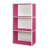 Modulares Schranksystem Rectangle Plus 3 Pink,