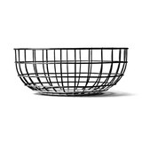 Norm Korb Wire Bowl - Metall - Silber,
