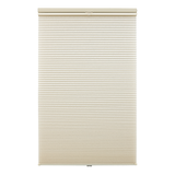 Plissee Klemmfix, Thermo - Polyester, Metall Beige - (H x B): 130 x 90 cm,