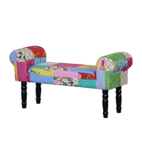 Polsterbank Banquette Patchwork Candys - Webstoff Mehrfarbig,