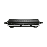 Raclette Simply Line Inox & Design - Thermokunststoff Schwarz,
