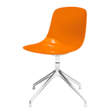 Schalenstuhl Pure Loop Swivel - Orange,