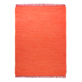 Teppich Cotton - Orange - Maße: 160 x 230 cm,