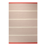 Teppich Simple Stripe - Sand - Maße: 160 x 230 cm,