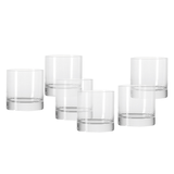 Whisky Becher Bar (6er-Set) - Glas,