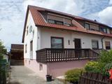 Gepflegte Doppelhaushälfte mit hübschen Garten in Burgoberbach 686775