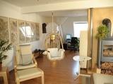Individuelle, ruhige Maisonettewohnung mit Kaminanschluß und Dachterrasse 74198