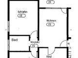Schöne 3 1/2 Zimmer Wohnung mit großer Terasse 21892