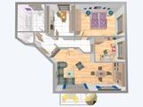 Elegante Neubau - Wohnung mit Balkon, Einbauküche und Stellplatz.  S-Bahn: 5 Gehminuten. 661522