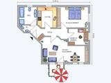 Elegante Neubau - Wohnung mit Balkon, Einbauküche und Stellplatz.  S-Bahn: 5 Gehminuten. 661584