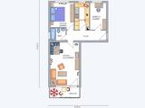 Friedrichsdorf. Bahn: 5 Gehmin. Schicke renovierte Wohnung mit Einbauküche, Balkon und Hausservice. 677377