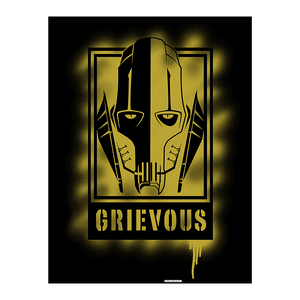 Aluminiumbild General Grievous Artwork - 100 x 75 cm,
