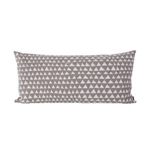 Mountain Kissen 80 x 40 cm, warm grey / white