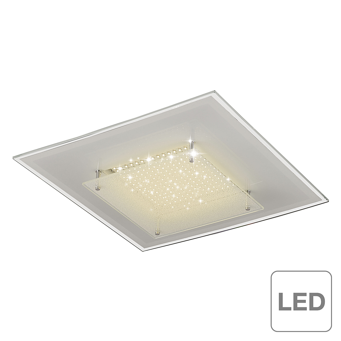 Deckenleuchte High Bright Led - 16-flammig,