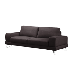 sofa bradley 3 sitzer strukturstoff braun mit 1. Black Bedroom Furniture Sets. Home Design Ideas