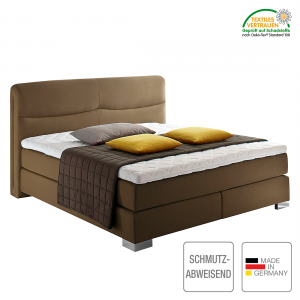 boxspringbett scala webstoff h2 bis 80 kg h3 ab 80 kg komfortschaum bonellfederkern. Black Bedroom Furniture Sets. Home Design Ideas