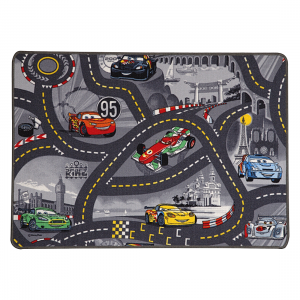 teppich cars race track mehrfarbig 150 x 100 cm teppiche bodenbel ge kinderteppiche. Black Bedroom Furniture Sets. Home Design Ideas